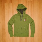 Ladies Grass Green Logo Hoody