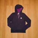 Ladies Purple Logo Hoody
